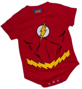Tiny Super Hero Baby and Toddler Gifts: The Flash Costume ...
