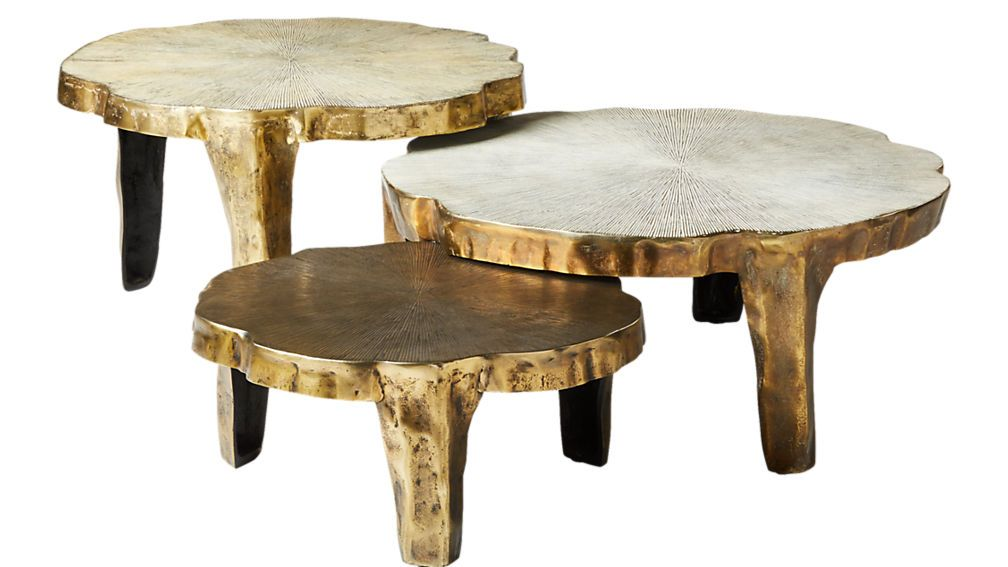 Lilly 3 Piece Nesting Table Set Reviews Cb2 Nesting Tables
