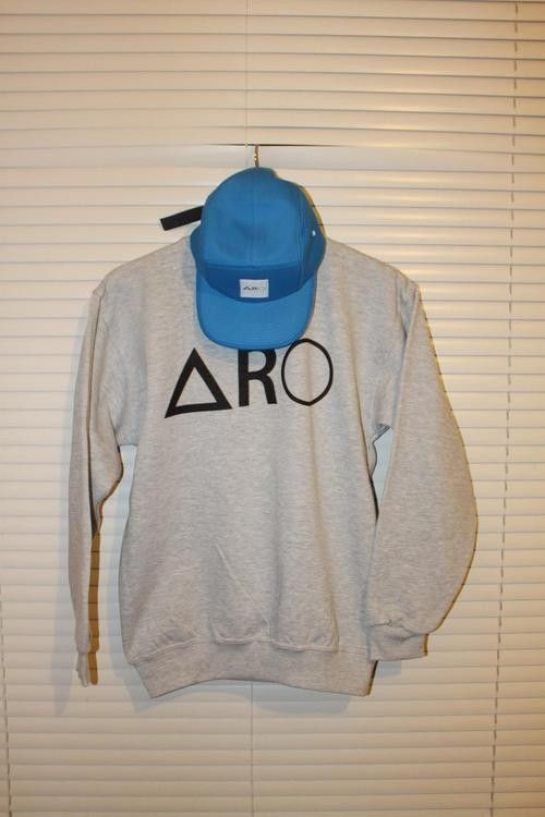 Ash Grey ARO Logo Sweater from Picsity.com
