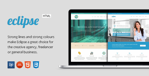 Eclipse responsive business html5 template themeforest templates eclipse responsive business html5 template accmission Images