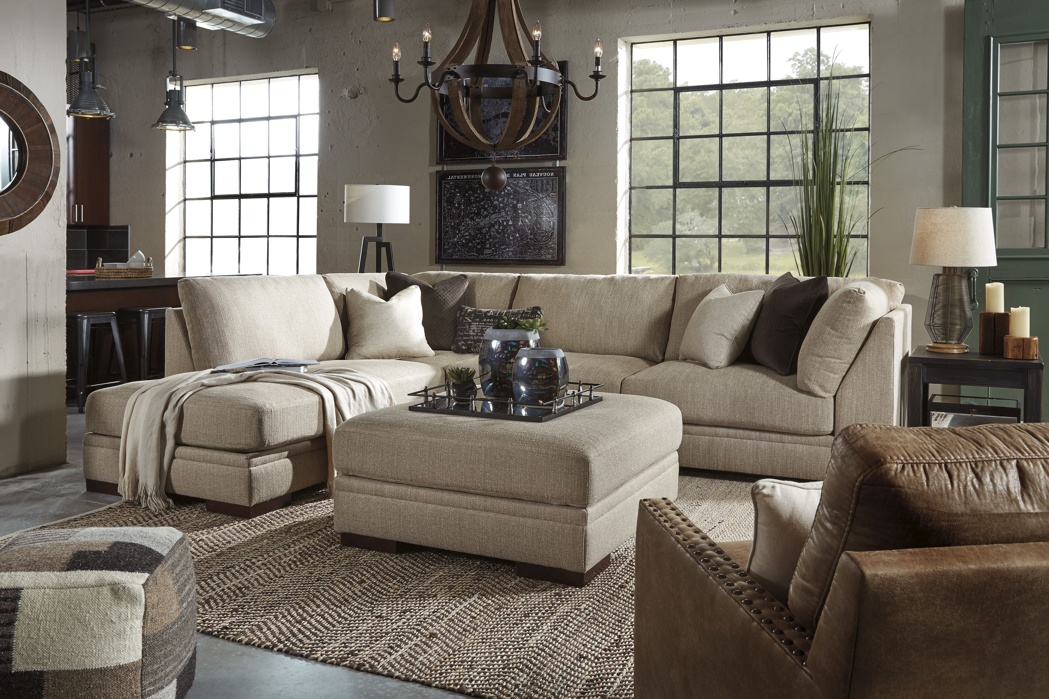 Malakoff Sectional Ashley Home Store Hausmobel Haus Deko Ashley Mobel