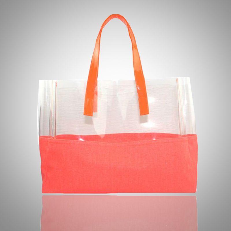 Pierre Hardy Clear Vinyl Polycube Tote Pierre Hardy Fashion Bags Zipper Tote Bag