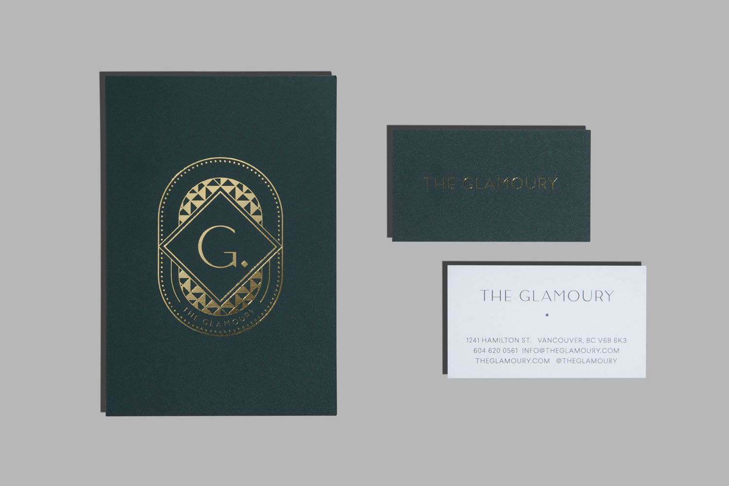 Branding for The Glamoury by Glasfurd & Walker — BP&O | Brand ...