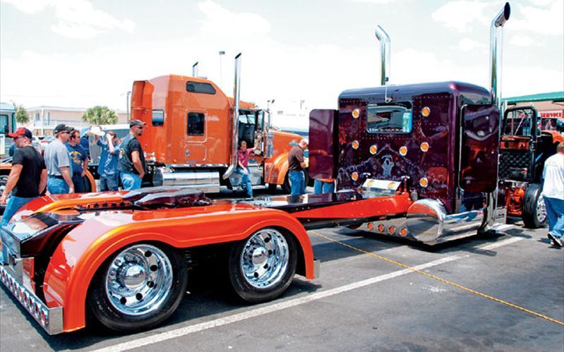 Custom 379 Peterbilt Show Trucks Rig Truck Chrome Photo Gallery