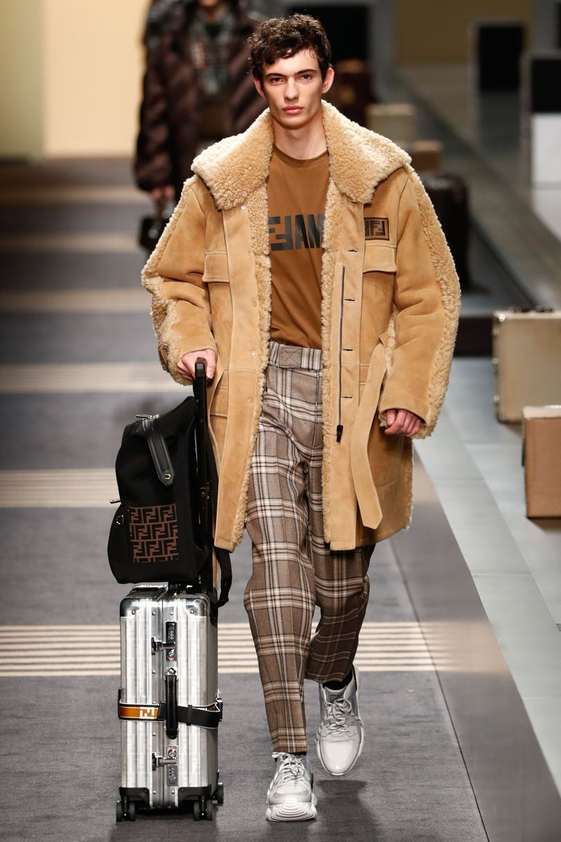 Fendi autumnwinter menswear british autumn and winter