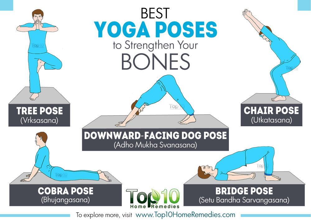 Ideal Yoga Poses For Stronger Bones Top 10 Home Remedies Cool Yoga Poses Yoga Poses Yoga Techniques