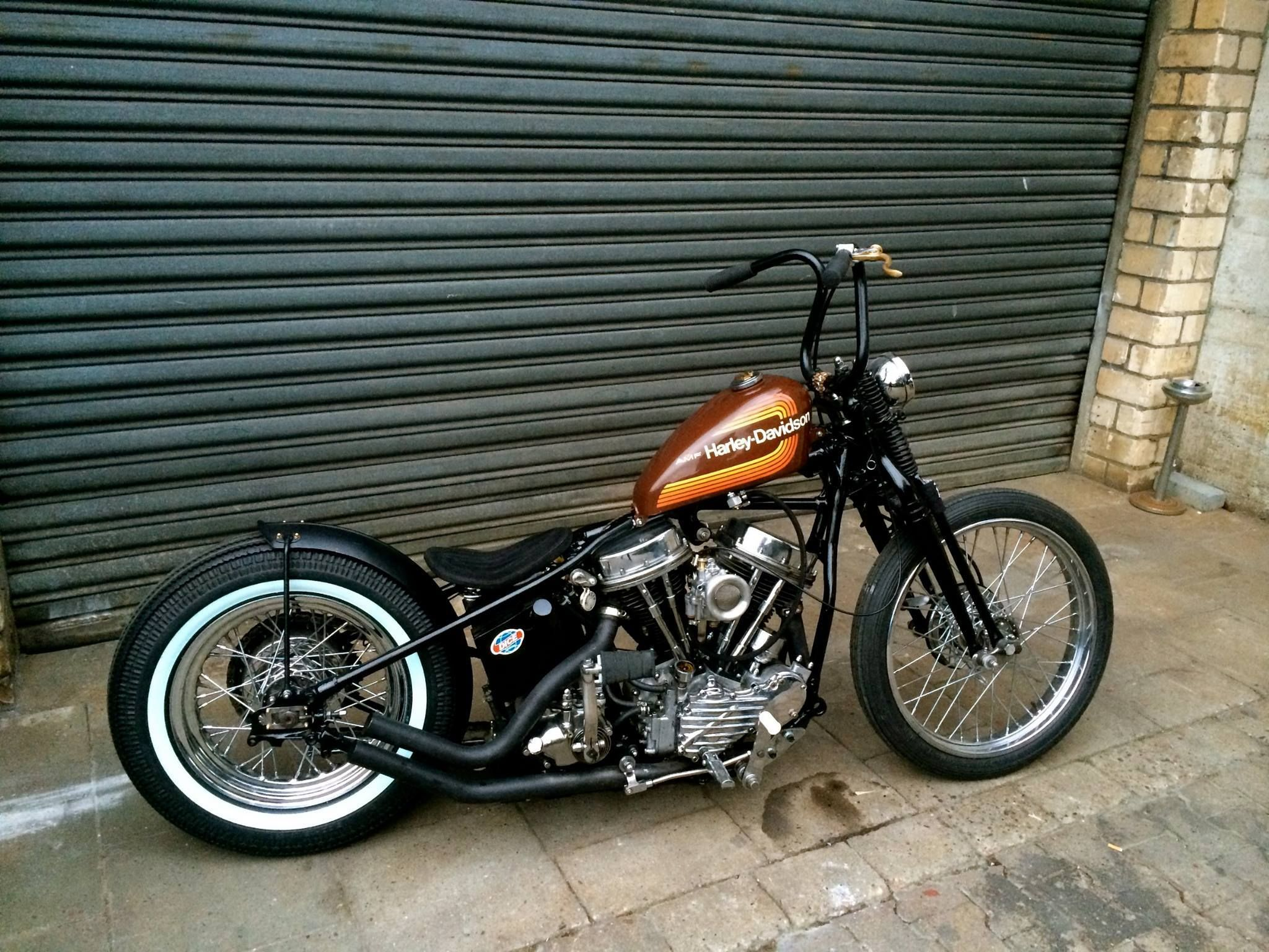 panhead harley davidson pinterest bobbers choppers and
