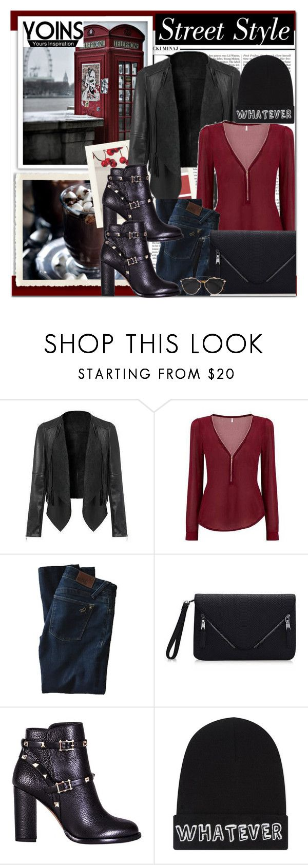 """""""Yoins 10"""" by lara-fam ❤ liked on Polyvore featuring Nicki Minaj, DL1961 Premium Denim, Valentino, Local Heroes, Christian Dior, women's clothing, women, female, woman and misses"""