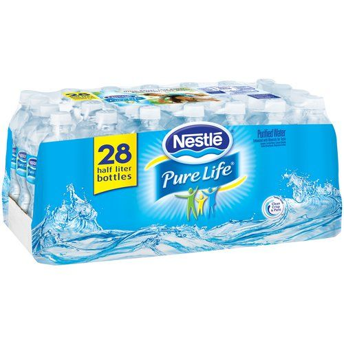 Nestle Pure Life Purified Water 0 5 L 28 Count 00068274735295 Nestle Pure Life Bottle Nestle Pure Life Water