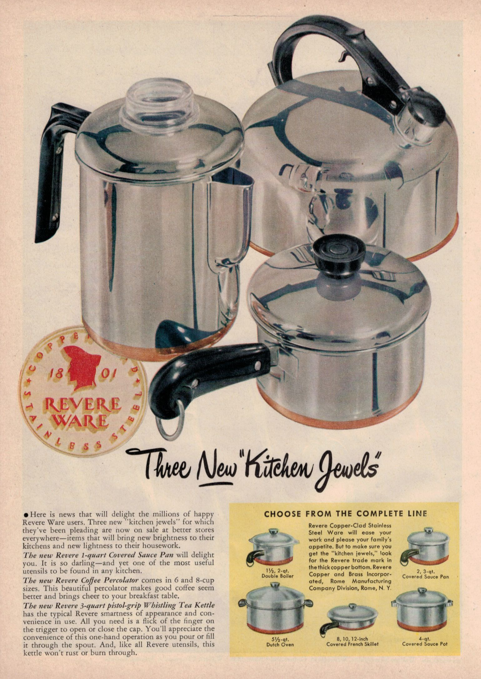News Revere Ware Parts Revere Ware Vintage Kitchenware Vintage Stoves