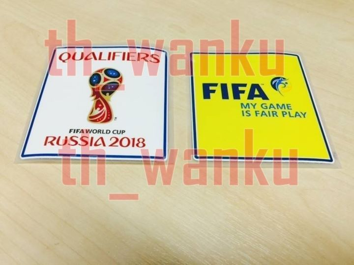 2018 world cup qualifiers patch football badges for soccer