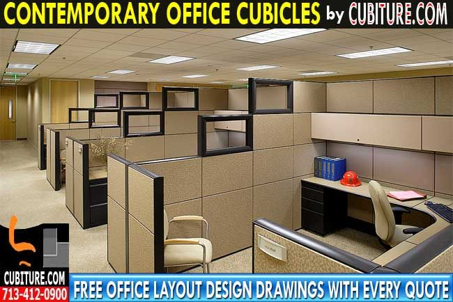 Contemporary Office Cubicles By Cubiture The Leading Manufacturer Of New Used Refurbished Furniture Free Layout Design Drawing With Quote