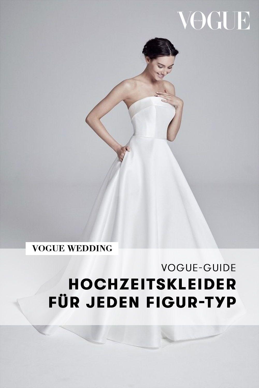 Der große Vogue-Guide: Hochzeitskleider für jeden Figur-Typ in
