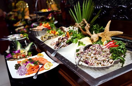 Sort Of Diy Catering Wedding Buffet Cold Food460x300