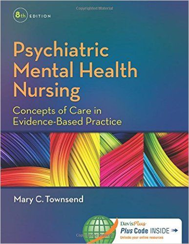 Test Bank For Psychiatric Mental Health Nursing Concepts Of Care