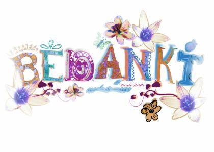 Bedank Letters Bedankkaartjes Kaartje2go Bedankt Voor De Verjaardagswensen Grappige Verjaardagskaarten Bedankt