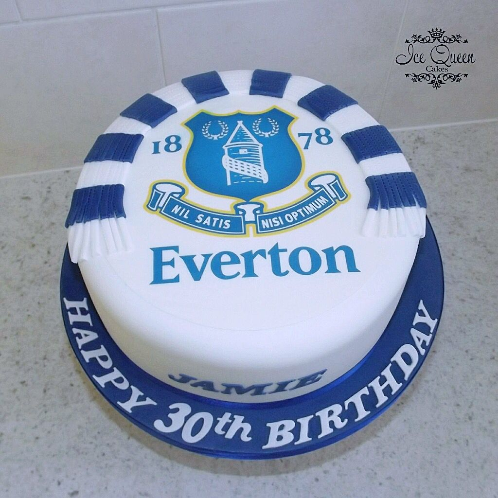 Everton Cake Cakes Pinterest Cake and Queen cakes