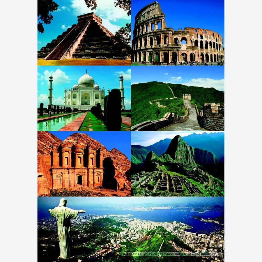 7 wonders of the world | travel | pinterest | buckets, wanderlust
