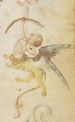 Decorated Text Page (detail), Nicolas Spierinc, 1469