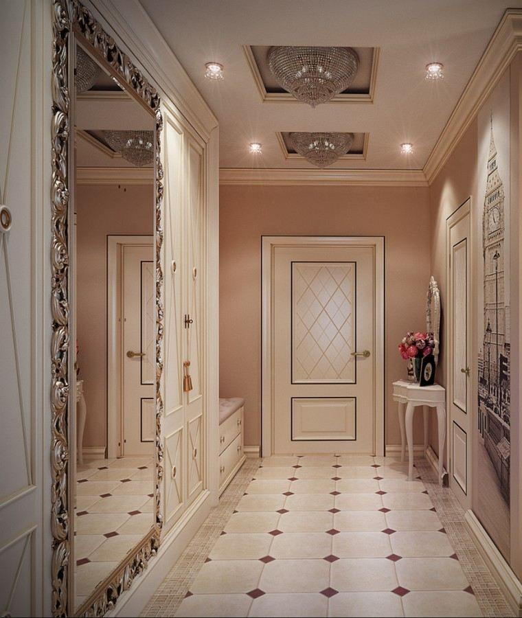 quelle couleur pour un couloir astuces am nagement clairage d co et photos portes. Black Bedroom Furniture Sets. Home Design Ideas