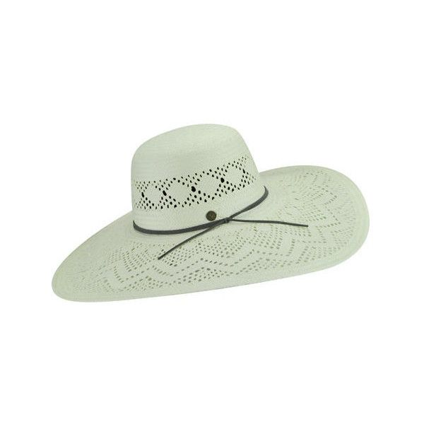 Women's Karen Kane Pointelle Wide Brim ($88) ❤ liked on Polyvore featuring accessories, hats, ivory, wide brim hats, white winter hat, suede hat, karen kane, wide brim hat and crown hat