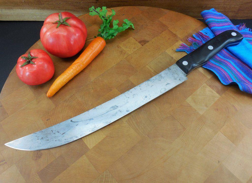 Wear-Ever Cutco Professional Butcher Slicing Knife - Curved 12 ...