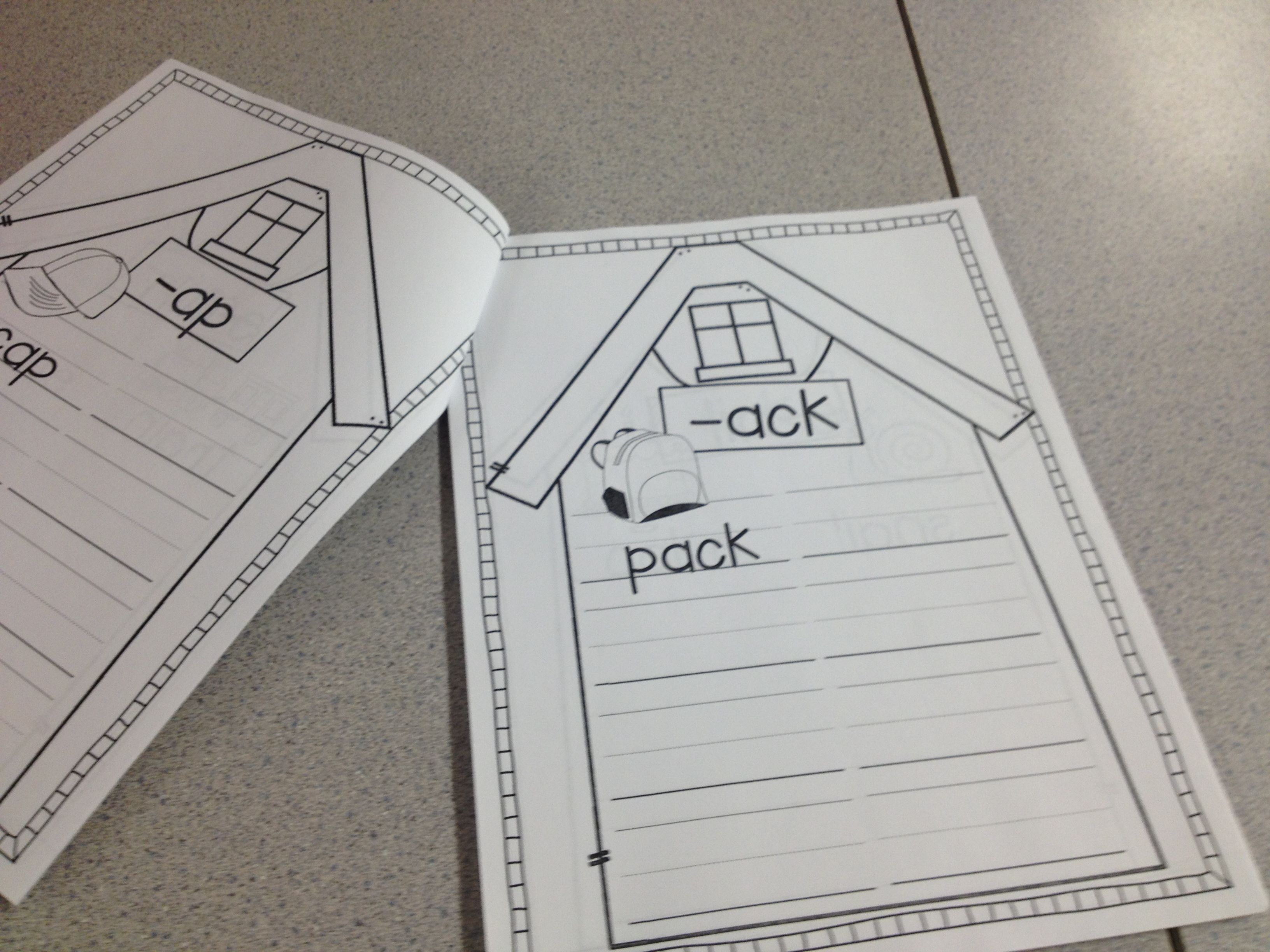 Word Families A Booklet To Make