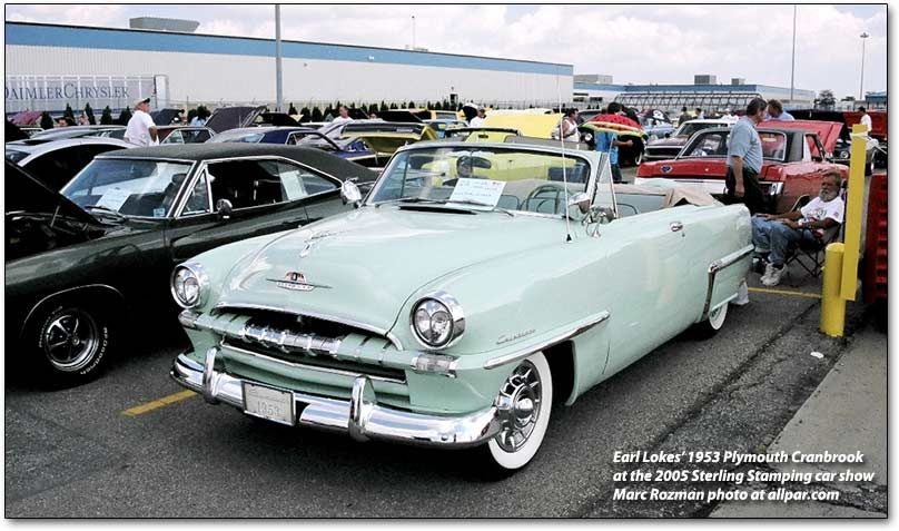 The Plymouth Cranbrook Cambridge And Concord Cars 1951