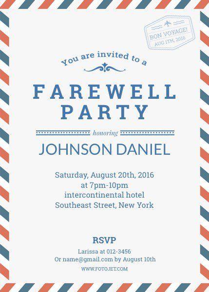 farewell-party-invitationjpg (429×600) farewell invitè - farewell invitations templates