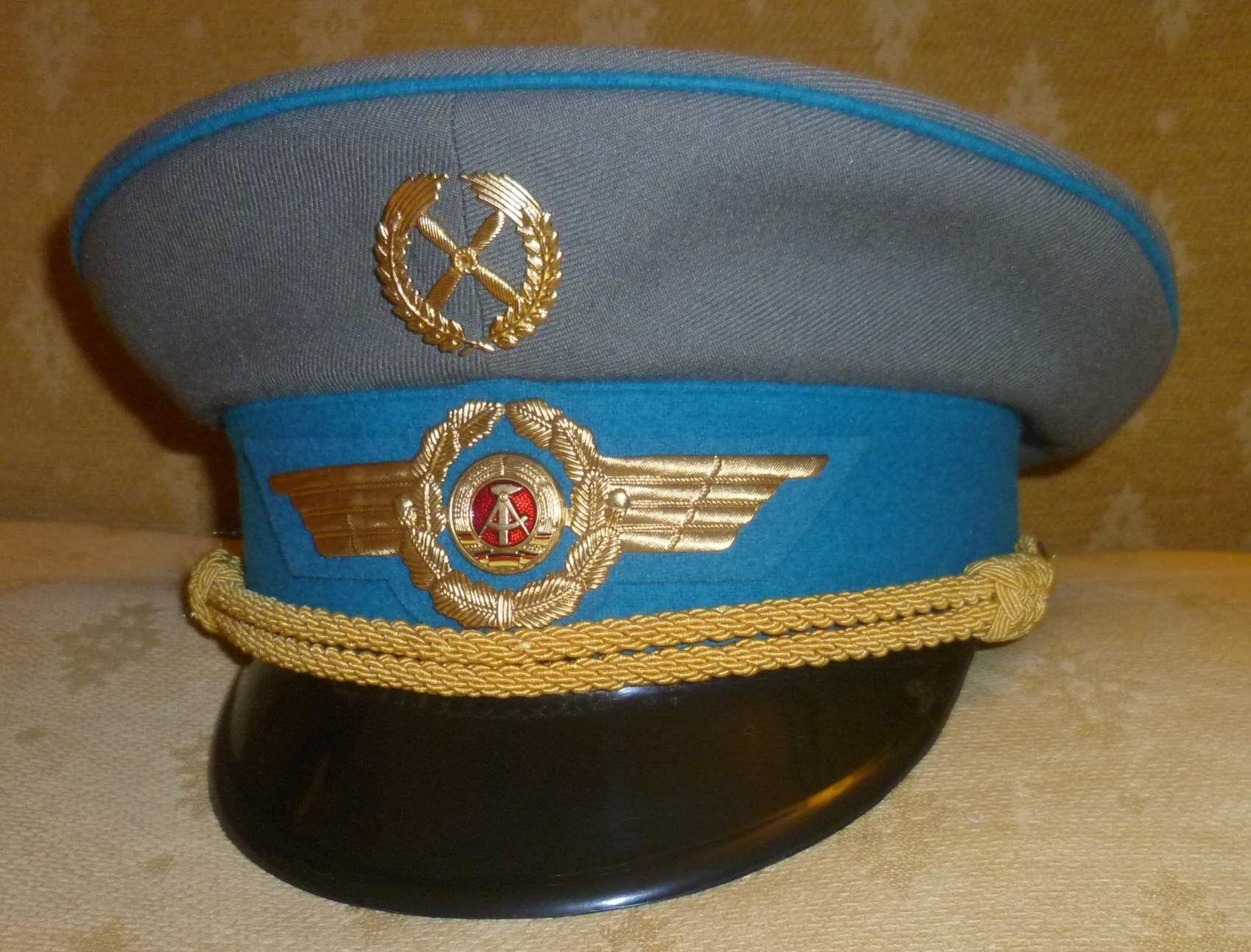 6f68bc07c201e LSK generale schirmmütze   East German Air Force generals  visor cap ...