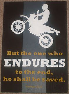 Scripture Sign I Painted This Sign For My Son Dustin Who