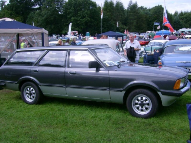 The First Car Ford Cortina Mk5 Carousel Estate W 81 Plate