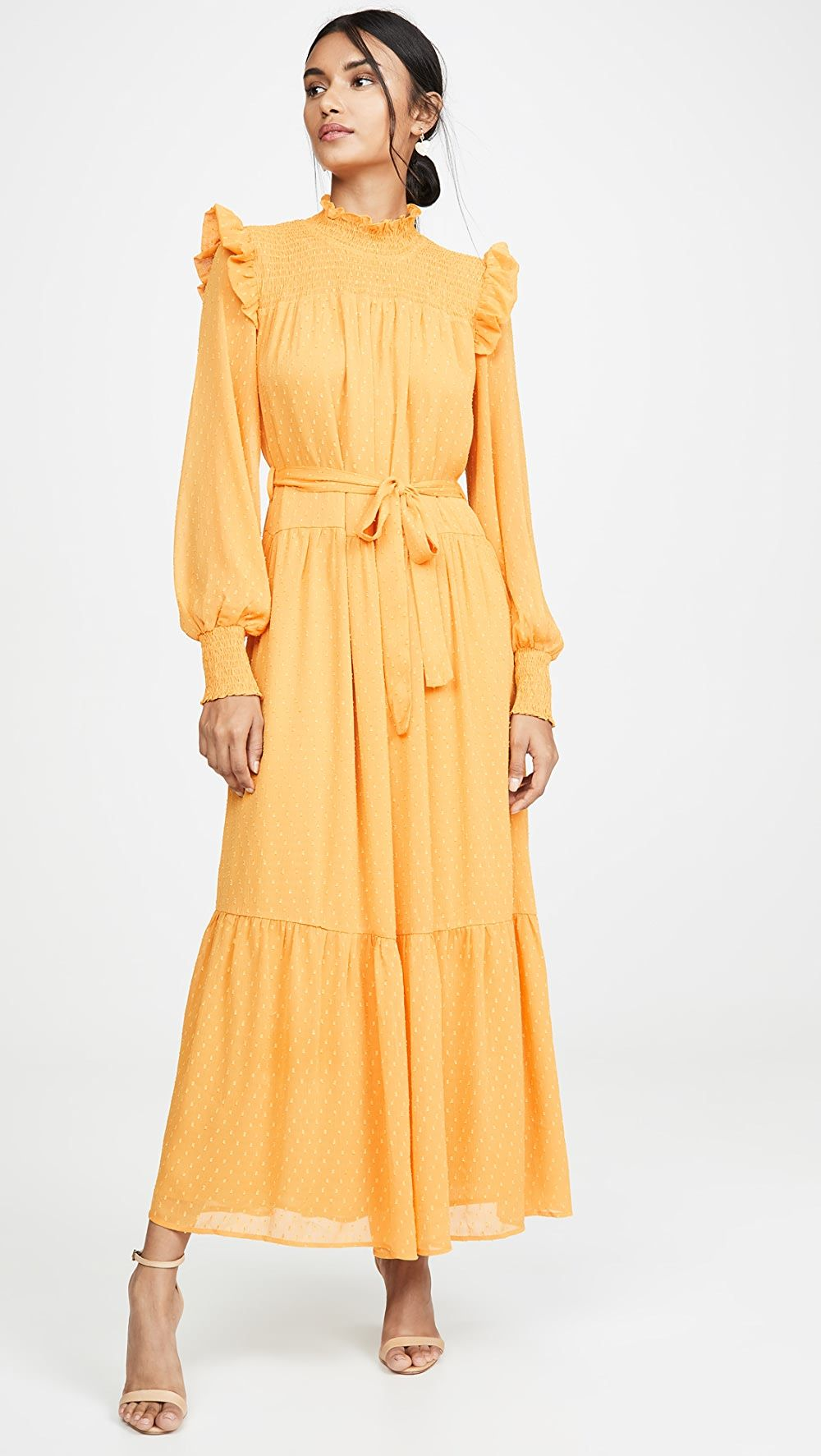 English Factory Swiss Dot Smocked Maxi Dress In 2021 Smocked Maxi Dresses Maxi Dress Summer Dresses [ 1773 x 1000 Pixel ]