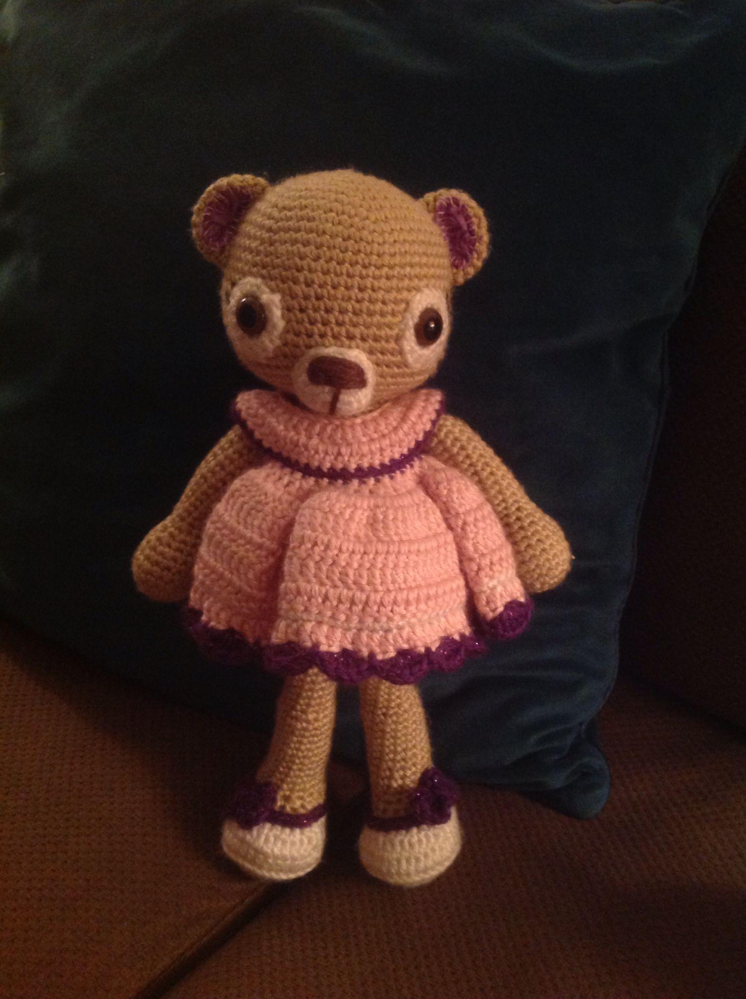 Amigurumi Crochet Bear pattern off etsy