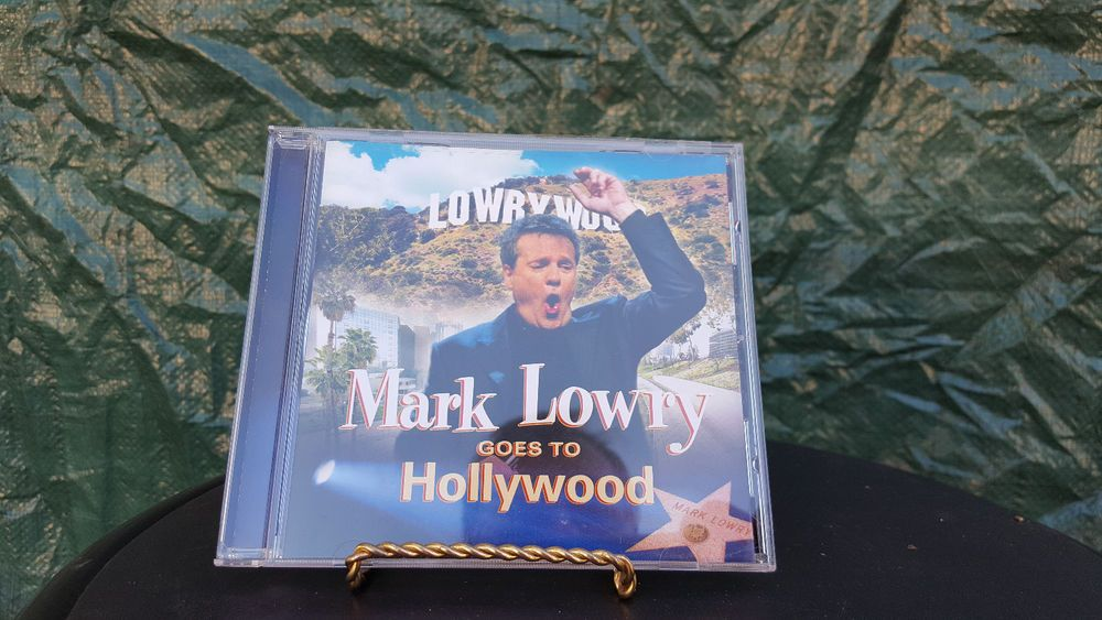 MARK LOWRY GOES TO HOLLYWOOD Gospel CD #Christian