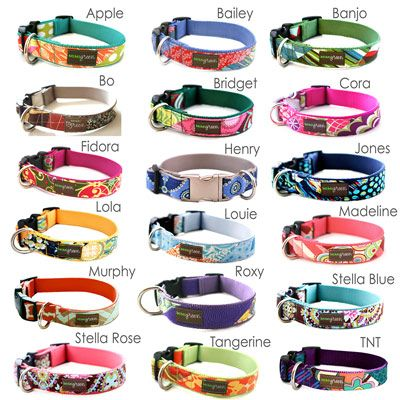 Engraved Personalized Dog Collar *Classic Styles