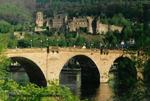 Brücke Heidelberg Neckar