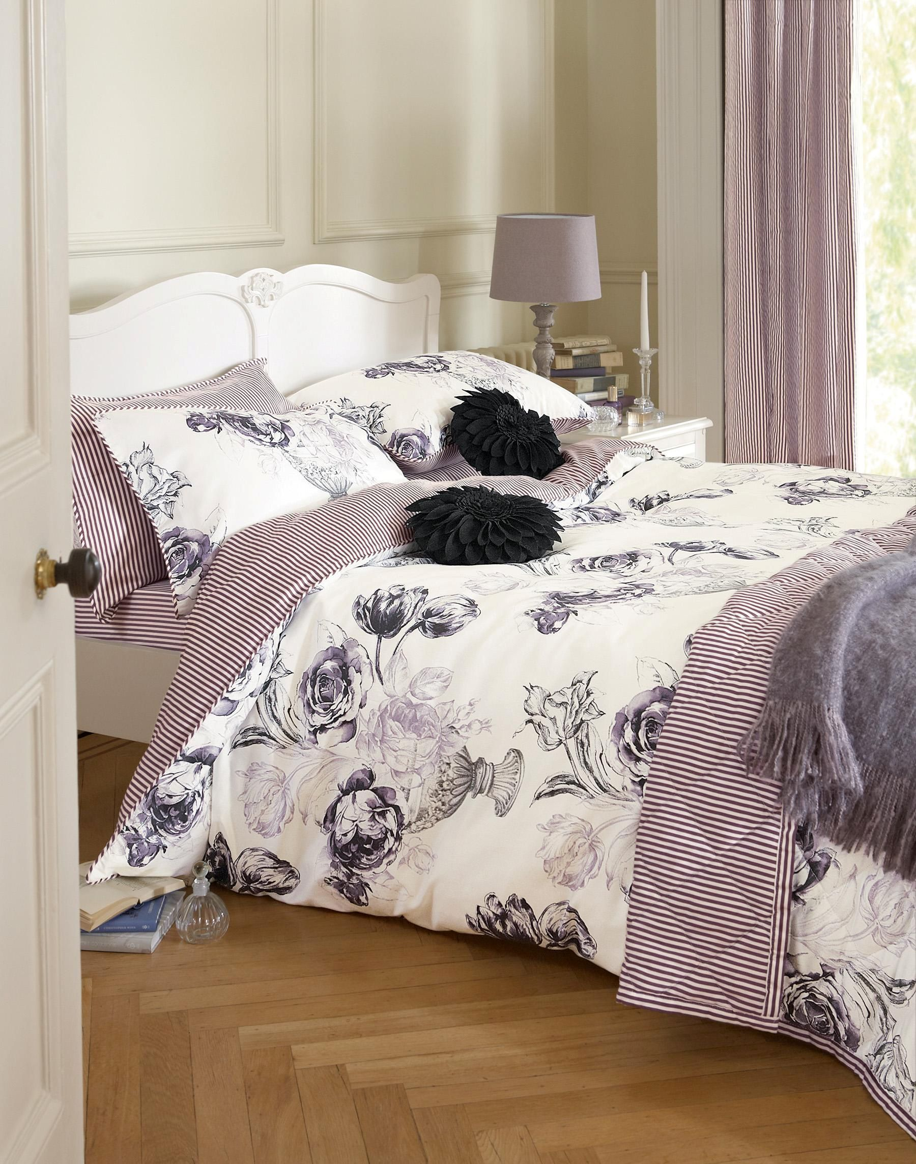 Buy Elegant Floral Print Bed Set from the Next UK online shop     Buy Elegant Floral Print Bed Set from the Next UK online shop