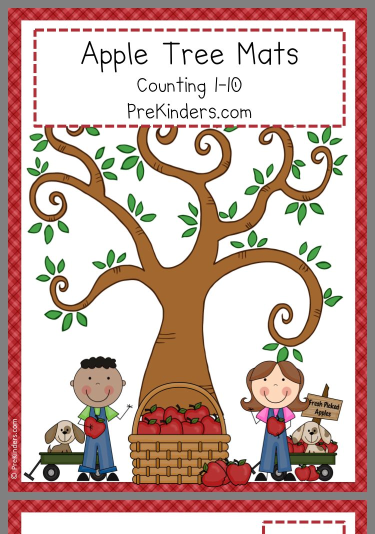 Pin by Megan Bish on Preschool fall/autumn Apple math