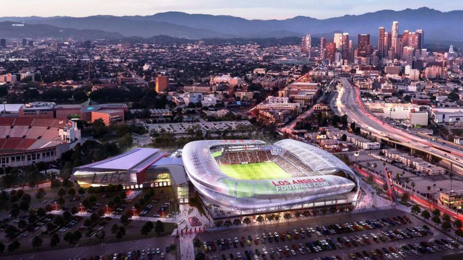 MLS expansion soccer team LAFC plans new Los Angeles