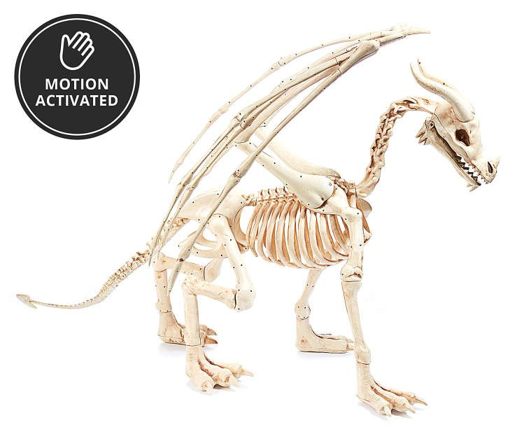 animated skeleton dragon at big lots halloween prop - Big Lots Halloween Decorations