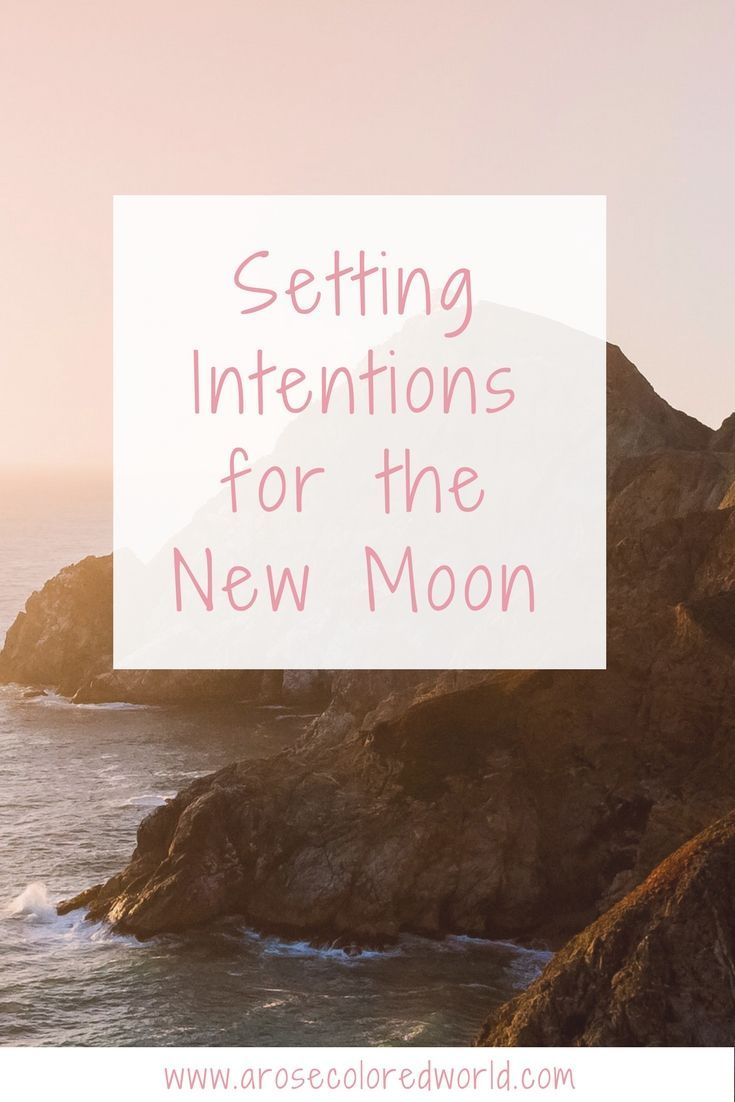 How to set new moon intentions april new moon new moon