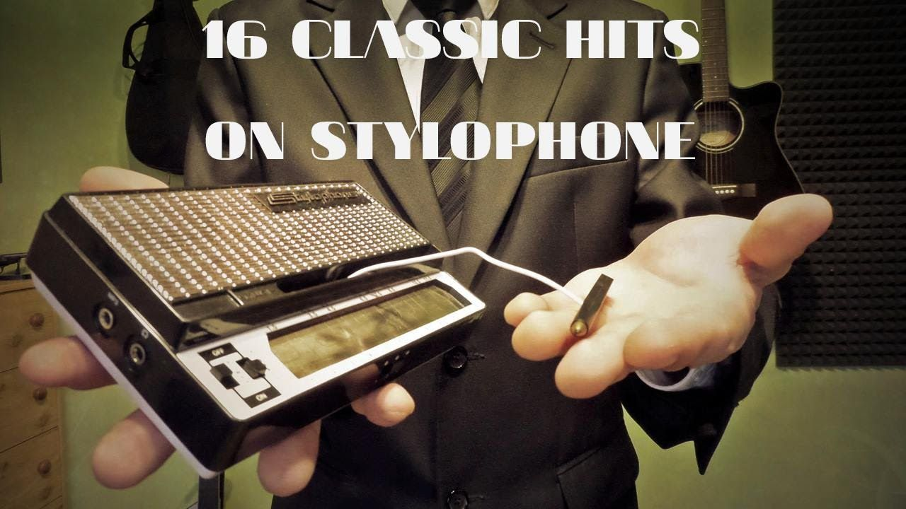 16 Classic Hits On Stylophone - YouTube | Unusual Musical