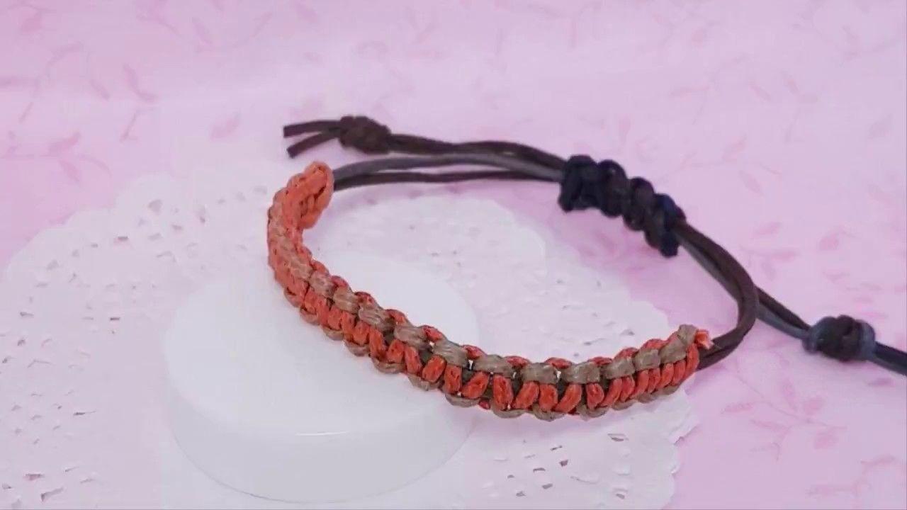 소품제작 초보자도 할 수 있는 쉬운 매듭팔찌 만들기 매듭 팔찌 만들기 매듭 팔찌 파라코드 팔찌