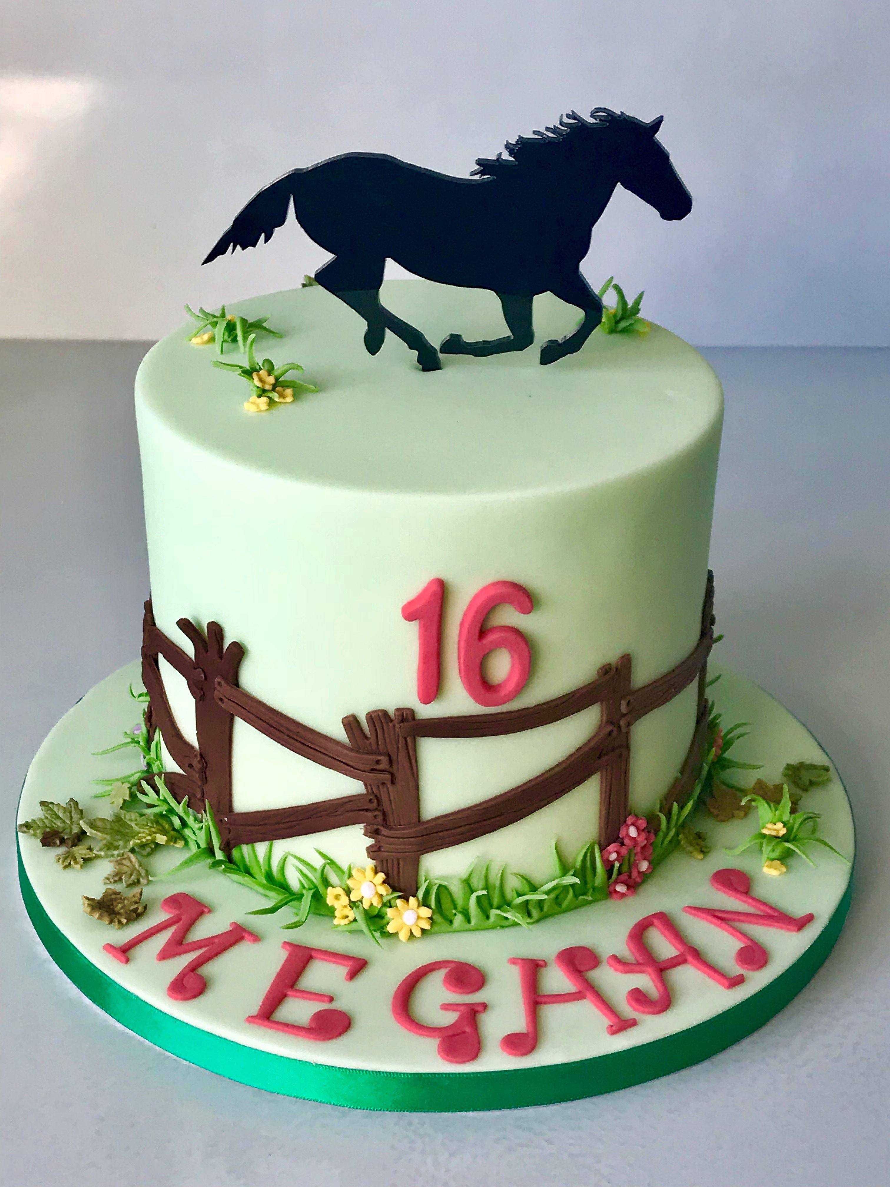 Brilliant Horse Themed Birthday Cake Themed Birthday Cakes Horse Theme Birthday Cards Printable Giouspongecafe Filternl