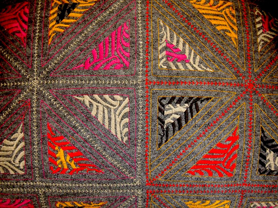 Folklore fabric by Kit Kemp for Christopher Farr Cloth