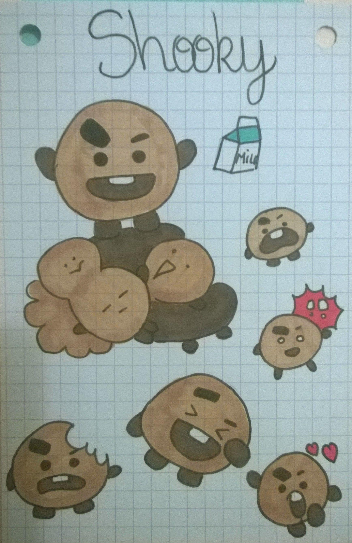 BT21 Shooky | Bts desenho, Desenho, Desenhos coreanos