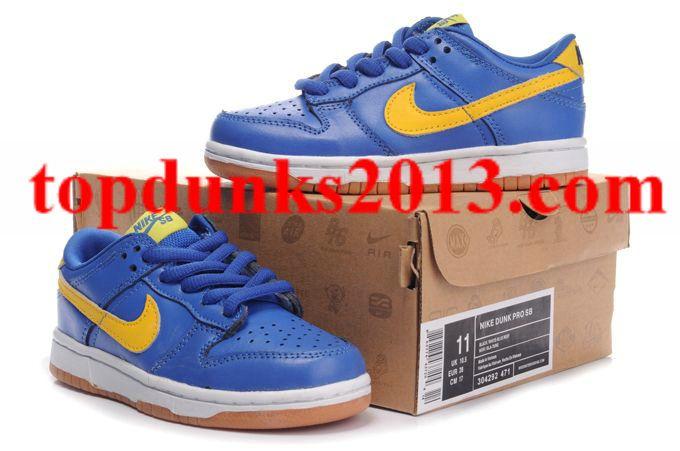 f112fbcf0c Online Sale SB Low Pro SB Boca Junior 304292 471 Nike Dunk Kids ...