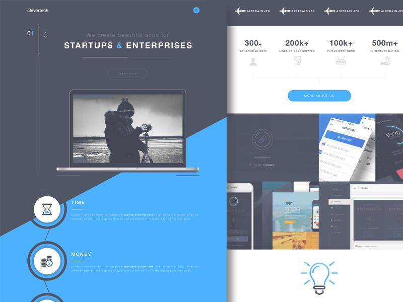 Ct Website Exploration Concept Web Design Concept Concept Design