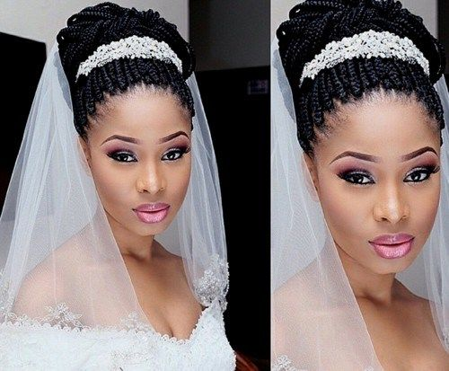 50 Superb Black Wedding Hairstyles In 2020 Natural Wedding